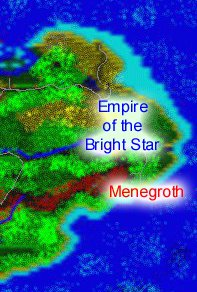Map of the Empire of the Bright Star